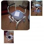 Инвалидное кресло туалет, стул с санитарным оснащением, Челябинск
