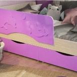 Новая детская кровать алиса мдф с матрасом капютошка 800*1600, Челябинск