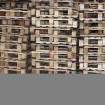 Европоддоны деревянные ТУ 1200*1000 1 сорт облегченный, Челябинск