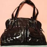 Женская сумка коричнев. с карманами, Челябинск