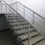 Монтаж лестничного ограждения, Челябинск