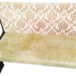 Диван диванчик для посетителей 3х местный ткань 2штуки, Челябинск