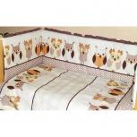 Комплект в детскую кроватку милашки 6 предметов, Челябинск