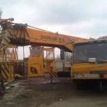 40-тонник автокран на стройку в аренду, Челябинск