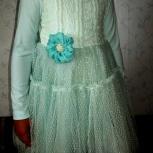 Платье трикотажное с длинным рукавом для девочки ростом 130см., Челябинск