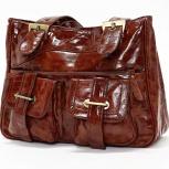 Женская сумка коричневая большая, Челябинск