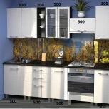 Новая кухня, модель Лилия Белая, Челябинск