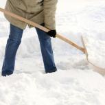 Уборка снега, Челябинск