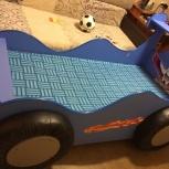 Детская кровать автомобиль для мальчика, Челябинск