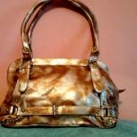 Стильная сумочка золотистого цвета, Челябинск