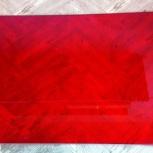 Стекло витражное ст. кроя гранатово-красное, Челябинск