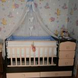 Продам комплект в кроватку для новороженного, Челябинск