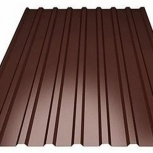 Профнастил С-8 (RAL 8017) коричневый шоколад 1200х, Челябинск