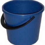 Ведро  пластик не бьется 7 литров опт розница, Челябинск