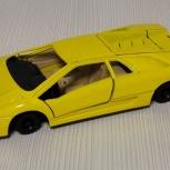 Модель Lamborghini Diablo Yellow на Запчасти, Челябинск
