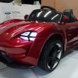 Детский электромобиль Porsche красный, Челябинск