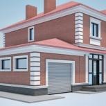 Проекты домов, коттеджей, Челябинск