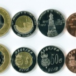 3 монеты государства Редонда 2009г, Челябинск