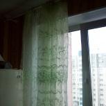 Тюль (высота 2.25, ширина 3 м.) светло-зелёная, Челябинск
