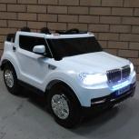 Детский электромобиль БМВ 4WD на надувных клёсах, Челябинск