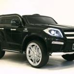Детский электромобиль mercedes-benz gl63 лицензия, Челябинск