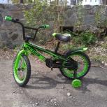 Детский велосипед 16д с добавочными колесиками, Челябинск