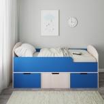 Новая детская кровать N60 с ящиками, Челябинск
