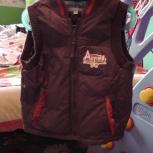 Теплая куртка - жилет 92-98, Челябинск