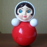 Неваляшка (Бим-бом работает) - 26 см, Челябинск