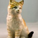Кошка кот фарфор, Челябинск