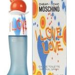 Moschino - туалетная вода i love love 100 ml, Челябинск