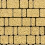 Тротуарная плитка Классико Гранит 115х115х60 Желта, Челябинск