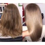 Кератиновое разглаживание волос S, Челябинск
