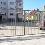 Распашные ворота с автоматикой - изготовление, монтаж, Челябинск