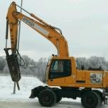 Экскаватор колесный полно поворотный демонтаж, Челябинск