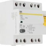 ВД1-63 АС. Выключатель дифференциального тока (УЗО) 4п 25А, Челябинск