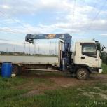 Услуги манипулятор самопогрузчик воровайка 5 тонн, Челябинск