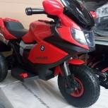 Детский электромобиль. Мотоцикл на надувных колесах, Челябинск