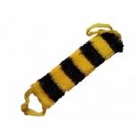 Мочалка Билайн желто-черная полосатая, Челябинск