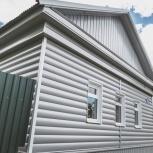 Сайдинг металлический блок-хаус, цвет: серый, Челябинск