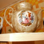 Чайники фарфоровые, советские, разные, большие, Челябинск