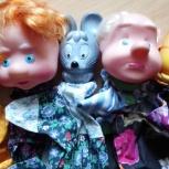 Кукольный театр на руку на палец СССР Винтаж, Челябинск