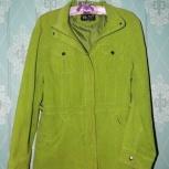 Демисезонная женская вельветовая куртка, Челябинск