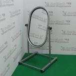 Зеркало для обуви напольное,  рама серебро, mgm 3148, Челябинск