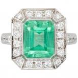 Продам кольцо с изумрудом, Челябинск