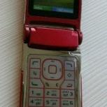 Nokia N76 red - стильный рейзер, Челябинск