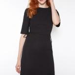 Черное приталенное платье, Челябинск