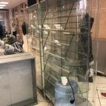 Продам стеклянный стеллаж, Челябинск