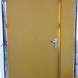 Дверь железная стальная тяжелая от входа в нежилое, Челябинск
