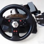 Logitech Formula Vibration Feedback Wheel б/у руль, Челябинск